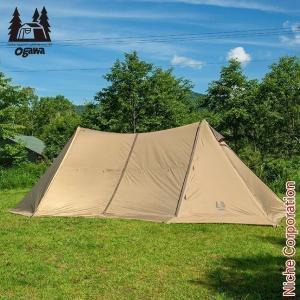 オガワキャンパル(ogawa) ツインピルツフォークL  3346 キャンプ用品 お1人様1点限り|niche-express
