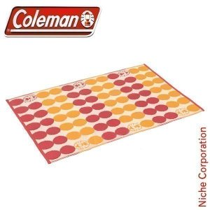 コールマン アウトドアラグ/130 (レッドドット)  [2000026876]Coleman OU...
