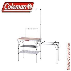【連休中休まず出荷】 Coleman コールマン オールインワン キッチンテーブル  2000031294 キャンプ用品|niche-express