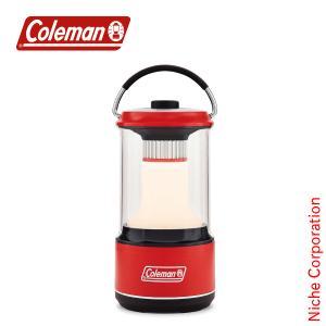コールマン バッテリーガードLED ランタン/600(レッド) 2000034239 キャンプ ライト|niche-express