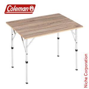 コールマン フォールディングリビングテーブル 90 2000034611  キャンプ テーブル アウトドア|niche-express