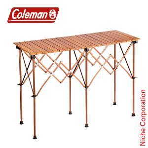 コールマン ナチュラルウッドカウンターテーブルクラシック 2000036582  キャンプ テーブル...