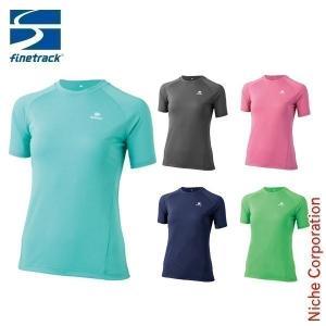 ファイントラック ラミースピンクール T ( レディース ) ハイキング Tシャツ nocu|niche-express