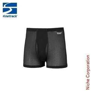 finetrack ファイントラック スキンメッシュボクサー MEN'S (ブラック)  FUM0414(BK) アウトドア用品|niche-express