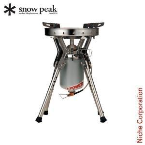 """スノーピークオリジナルの燃焼方法""""液出し""""システムを採用した大型ハイパワーシングルストーブです。 """"..."""