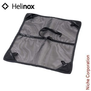 Helinox ヘリノックス スイベルチェア グラウンドシート (ブラック)  1822197-BK キャンプ用品 アウトドア用品|niche-express