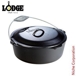 LODGE ロッジ ロジック キッチンオーヴン13 1/4インチ L12DO3 キャンプ用品 鉄分 がとれる 鉄鍋 てつなべ niche-express