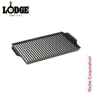 LODGE ロッジ バーベキューグリルプレート LBBG3 キャンプ用品 鉄分 がとれる 鉄鍋 てつなべ niche-express