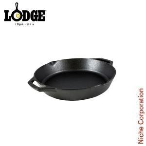 ロッジ ラウンドパン ループハンドル 12インチ L10SKL キャンプ用品 鉄分 がとれる 鉄鍋 てつなべ niche-express
