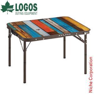 【連休中休まず出荷】 ロゴス テーブル グランベーシック 丸洗いスリムサイドテーブル 7060 キャンプ アウトドア|niche-express