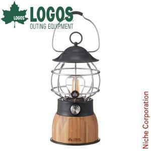 ロゴス Bamboo コテージランタン LED ランタン 74175016 キャンプ用品|niche-express