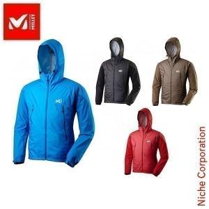 ミレー ウィンドプルーフ コンポジット ジャケット : MIV01041 Men's MILLET ミレー 男性用 パーカ 雨具 ウィンドブレーカーdis-out niche-express