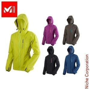 ミレー ビオナセ EG ストレッチ ジャケット : MIV01122 Women's MILLET ミレー 女性用 パーカ 雨具 ウィンドブレーカーdis-out niche-express