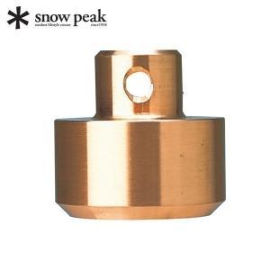 スノーピーク 交換用銅ヘッド [ N-001-1 ] ペグハンマーPro.Cのヘッドの素材には、柔軟...