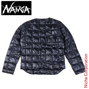 NANGA ナンガ ニッチオリジナルダウンカーディガン (ブ...