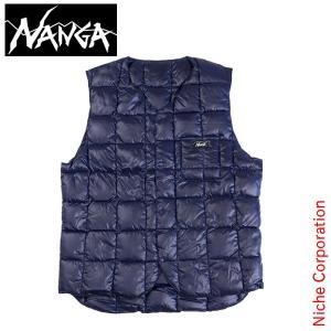 NANGA ナンガ ニッチオリジナルダウンベスト (ネイビー) アウトドア用品 防寒|niche-express