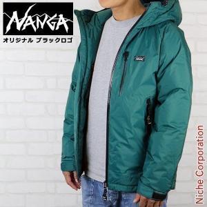 NANGA ナンガ ニッチオリジナル オーロラダウンジャケット ユニセックス アウトドア用品 防寒 冬用|niche-express