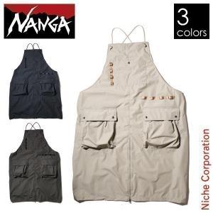 ナンガ タキビフィールドエプロン TKB-F-APRON アウトドア ウェア NANGA|niche-express