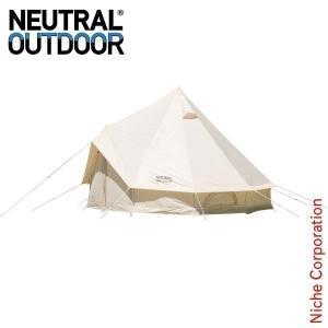 ニュートラルアウトドア GE テント 3m 23457 ファミリーキャンプ用品|niche-express