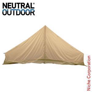 ニュートラルアウトドア GE テント 4m インナーテント 24193 テント用品 キャンプ用品|niche-express