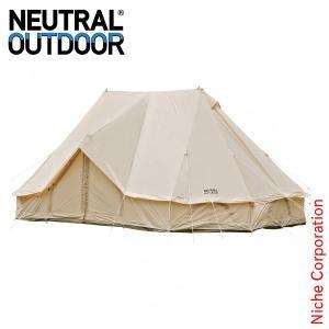 ニュートラルアウトドア GE テント6.0m 34083 キャンプ用品 大人数|niche-express