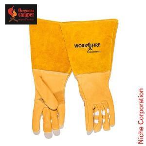 オレゴニアンキャンパー ワーク&ファイアグローブ 3D OCG-2011 手袋 革 皮  キャンプ用品 niche-express