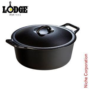 LODGE ロッジ プロロジック ダッチオーヴン12インチ P12D3 キャンプ用品 鉄分 がとれる 鉄鍋 てつなべ niche-express