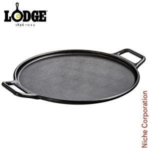 LODGE ロッジ プロロジック ベイキングパン 14インチ  P14P3 キャンプ用品 アウトドア用品 鉄分 がとれる 鉄鍋 てつなべ niche-express