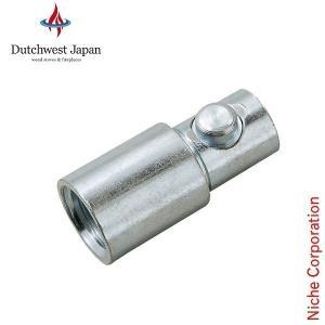 RUTLAND(ラトランド/ルトランド) 煙突ブラシ(プロ用) 変換アダプター (PFFTM) (TLC式ツール+ネジ式ロッド用)