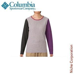 コロンビア ウィメンズジョーダンパーククルー 女性用 PL2276 アウトドア用品|niche-express