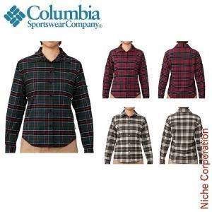 コロンビア ウィメンズカシオペアシャツ 女性用 PL7230|niche-express