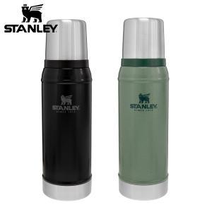 スタンレーの定番商品。ロゴがリニューアルされました。  真空断熱ステンレスボトルの先駆け的なモデル ...