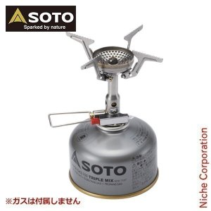 【連休中休まず出荷】 ソト SOTO バーナー アミカス SOD-320 キャンプ シングルバーナー|niche-express