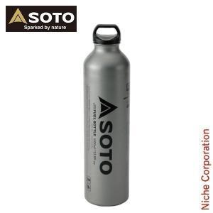 【連休中休まず出荷】 ソト SOTO バーナー 広口フューエルボトル1000ml SOD-700-10 燃料 ボトル|niche-express