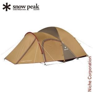 スノーピーク アメニティドーム S  SDE-002RH キャンプ用品 テント 2人用 3人用|niche-express