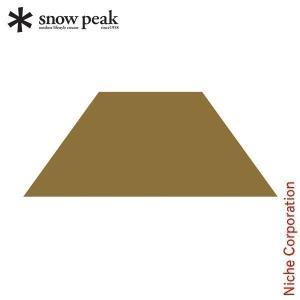 スノーピーク ソル Pro. グランドシート4 [TP-700GS-4] snow peak Sol...
