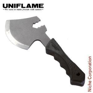 燕三条の職人が作ったコンパクト斧。 刃部には薪を折る機能を搭載。小型焚き火台を使用する際の薪作りをサ...