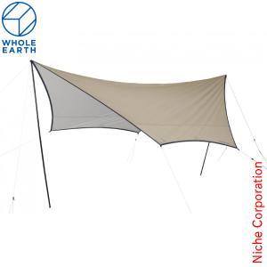 ホールアース EARTH Hexa Tarp III WE23DA08-83 タープ 大型 キャンプ用品|niche-express