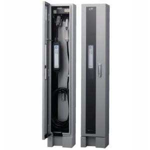 電源スイッチ付 ケース材質:鋼板製 定格:1φ2W AC200V 20A(連続定格16A) EV充電...