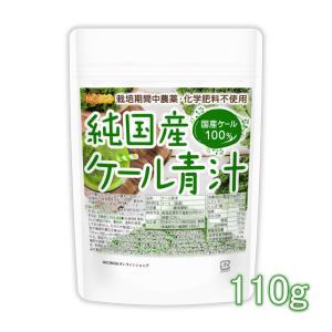 純国産 ケール 青汁 110g(計量スプーン付) 化学肥料 農薬不使用 [02] NICHIGA(ニチガ)|nichiga
