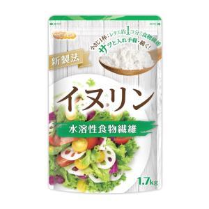 イヌリン 1.7kg(計量スプーン付) 水溶性食物繊維 いぬりん 1.7kg [02] NICHIGA(ニチガ)|nichiga