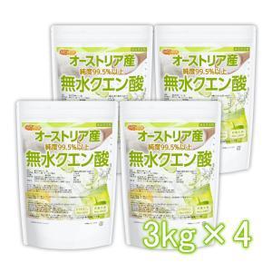 無水クエン酸(オーストリア産) 3kg×4袋 食品添加物規格 純度99.5%以上 [02] NICHIGA(ニチガ)|nichiga