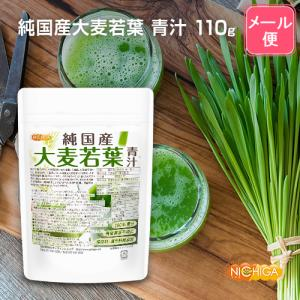 国産大麦若葉 100g(計量スプーン付) 【メール便専用品】【送料無料】 青汁 100%粉末 [01]|nichiga