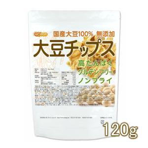 大豆チップス (SOY chips) 120g 【メール便専用品】【送料無料】 ソイチップス 国産大豆100%使用 [06] NICHIGA(ニチガ)|nichiga