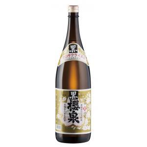 黒櫻泉(麦焼酎) 25度 1800ml|nichinan-tv