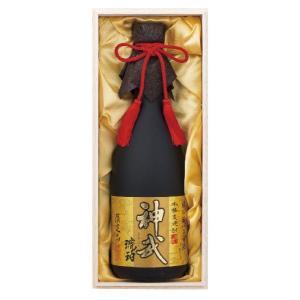 限定品「神武」琥珀 25度 720ml(麦焼酎 ・樫樽貯蔵)熟成貯蔵した古酒をブレンド!|nichinan-tv