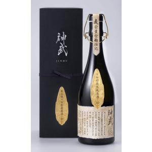 「神武」麦全麹仕込 10年貯蔵原酒 39度 720ml|nichinan-tv