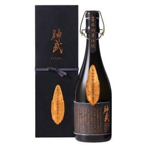 贈答用に「神武」安納芋仕込長期貯蔵原酒 芋焼酎 36度 720ml|nichinan-tv