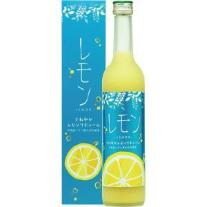 さわやか レモンリキュール 14度 500ml 女性にオススメです|nichinan-tv