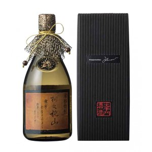 桐乃桃山(きりのももやま)麦焼酎 40度 720ml 原酒/樫樽貯蔵 酒蔵王手門|nichinan-tv